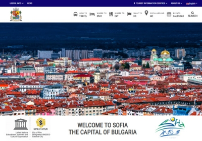 Official Tourist Web Site of Sofia Municipality.